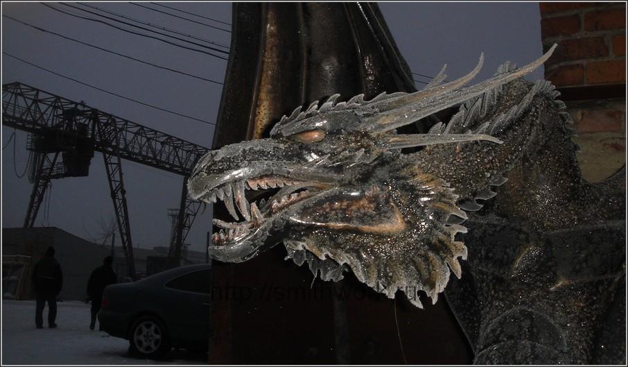 Как из металла сделать дракона своими руками